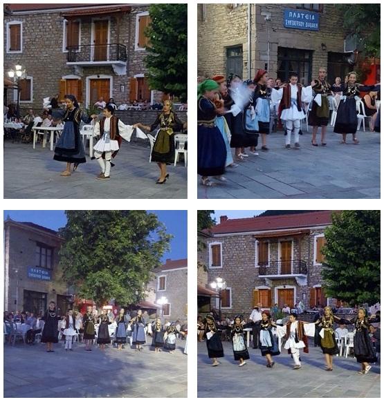 Διοργάνωση του Πανηγυριού Αγίας Παρασκευής σε συνεργασία με τα δύο καφενεία του χωριού 25,26-7-2017